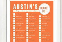 Austin to-do or get list / Making an apartment into a home / by Carisa Buchanan