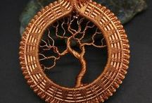 Amazing Tree of Life pendants! / Amazing Tree of Life pendants and necklaces by talented artists.