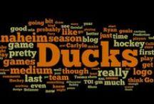 h o c k e y  //  Anaheim Ducks / by Kelsey Minner