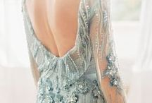 c o l o u r e d  d r e s s e s / coloured wedding dress inspiration