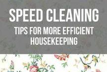 Cleaning / by Yolanda Eriksen Funk