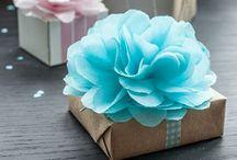 Gift Wrapping Ideas / by Yolanda Eriksen Funk