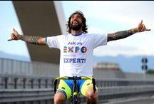 Vittorio Brumotti sul Ponte Expo