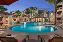 San Milan - Scottsdale, AZ / 6975 E. Princess Drive, Phoenix, AZ 85054 (602) 904-6908 • Rent: $1,235-$2,575 Bedrooms: 1-3 Bathrooms: 1-2