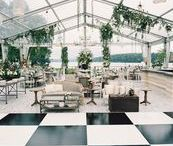 MARQUEE / wedding marquee decor and inspiration
