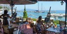 Creative Holidays - Art Workshops / These are photos from the Metaxart painting workshops, located in Athens and Kefalonia Island.