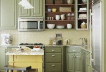Kitchens / Great ideas on color combinations and palette!!  / by Anne Marie