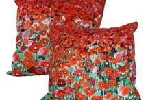 Art Print Cushions / Art, printed on cushions.