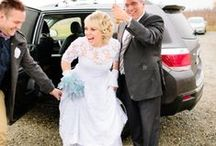 Lovely Brides / Beautiful brides in Rose & Delilah gowns