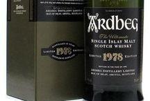 Islay Malt Scotch / #Whisky Made On #Islay (Inner Hebridean Islands, #Scotland) | Local Distilleries: #Ardbeg, #Bowmore, #Bruichladdich, #Bunnahabhain, #Caol Ila, #Kilchoman, #Lagavulin, #Laphroaig, Port #Charlotte
