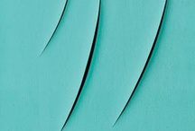 Lucio Fontana / Lucio Fontana (February 19, 1899 – September 7, 1968) #art #modern #povera #Spatialism #Italy