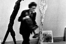 Alberto Giacometti / Alberto Giacometti (October 10, 1901 – January 11, 1966) #art #modern #sculpture #painting #graphic #Swiss