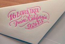Invitations / Wedding invitation design inspiration / by Andrea Stark