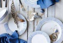 Blue & White / I adore this colors combo!
