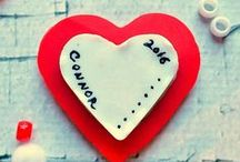 Winter & Valentines Crafts / winter crafts and valentine's day crafts.  Valentine's day decorations and also valentine's day ideas for kids and the family or significant other.  You will also find some recipes that will work for celebrating valentine's day.