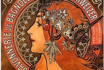 Alfons Mucha / #Art #Style #Illustration