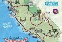 California on the road / Tutto quello che c'è da sapere prima di organizzare un viaggio on the road in California. Info utili su dove andare, cosa vedere, dove dormire e cosa fare.