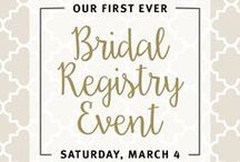 Life:Style / The BC Clark Bridal Registry Experience is unlike anything else.