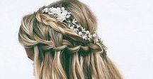 Flowers In Her Hair / Wedding hair is seriously some of the most beautiful hairstyles you can find on the internet. Browse through some of our personal favorite looks!