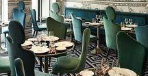 Для ресторана и кафе / Мебель, интерьеры и идеи для вдохновения и создания стильного интерьера кафе или ресторана.