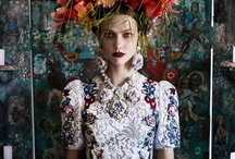 Neoteric Romanticism | Haute Couture / Haute couture and stories of nostalgia. Contemporary romanitic and decorative interpretations of past times.  / by Sara Forsmark