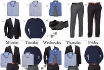 Dress for Success - Men / Fashion advice that leaves a powerful impression.