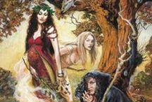 Triple Goddess / Maiden, Mother & Crone