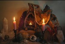 Altars & Sacred Spaces / A woman's need for an altar and sacred spaces is fundamental. A woman usually creates altars without even realizing it. Here's some inspiration, ideas and how-to's