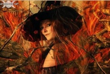 """Samhain & Halloween / Samhain, (pronounced SOW-in, SAH-vin, or SAM-hayne) means """"End of Summer"""" This is the season of the Crone Goddess, who stirs the cauldron of life, death and rebirth. The veil between the worlds is very thin at Samhain, and for this reason it is said that spirits can walk more easily among us. This is the perfect time to honor those who have passed over during the year, as well as all of your ancestors  and lineage."""