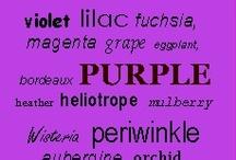 Color - Purple / I LOVE purple! #purple