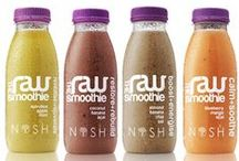 The Raw Range by Nosh Detox / Raw food and drink created by Nosh Detox that are available in Ocado, Wholefoods, People Supermarket, Harvey Nichols and other good health food shops accross the UK. www.therawsmoothie.com