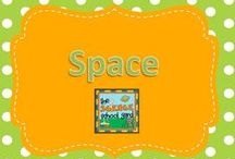 """Space / A """"Space"""" for great ideas! We have a space unit in fourth grade and I am always looking for quality pins to use or redesign to make it work in my science classroom!"""