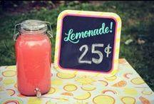 Party Ideas: Lemonade