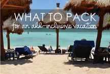 What to Pack / Packing isn't all that easy, but we're here to help you!