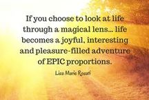 Lisa Marie Rosati Quotes / Basically this is the world according to (me) Lisa Marie Rosati ... inspiration, quotes life magic, happiness, empowerment for spiritual women.