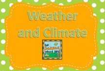 Weather and Climate / Weather you like it or not... This board is loaded with creative lessons and activities that bring science to life for learners of all ages. From weather to clouds, meteorology to precipitation. This weather board has engaging ideas for Kindergarten through 5th grade!