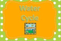 Water Cycle / Lessons through the snow, sleet, and hail... teaching the water cycle can be engaging with these ideas! Looking for fun, engaging station ideas and large group demonstrations...This board is loaded with creative lessons and activities that bring the water cycle to life for learners of all ages. The water cycle, precipitation, hydropower, STEM, and water related lessons are all favorites!
