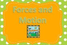 Force and Motion / This board was created to provide teachers force and motion tips and ideas. You will find lessons, resources, digital connections, printables, teaching ideas, hands-on activities and more that will help to make your teaching job effective and enjoyable. Be sure to visit me at my blog, Science School Yard to find lessons and pictures of ideas in action.