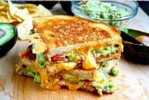 Sandwiches, Burgers Paninis / My son and husband love sandwiches and paninis. Here's a mouth watering collection of the best sandwiches on Pinterest.