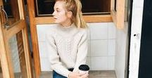OFF DUTY LOOKS / The perfect basics, and cute outfits