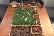 Theme: On the Farm / Preschool theme, farm, farm animals, teaching English, very young learners, farm project, EFL