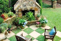Dream Yard / Garden o' my dreams. / by Julie Slagle