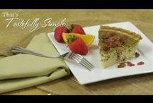 Tastefully Simple Videos / by Sue Pezzella