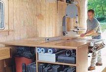 Workshop Tours / A peek in the window of various woodworking workshops