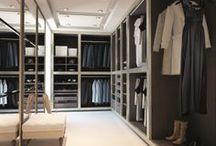 Walk in wardrobes / Walk in closets concepts, designs and our current projects.
