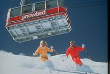 Powder Throwbacks / Snowbird opened in December of 1971 with three lifts, the Tram, the Lodge at Snowbird and the Snowbird Center. Since then, we've opened one Aerial Tram, 10 chairlifts including six high-speed detachable quads and four doubles (most with arm and leg rests) and two conveyer lifts more lifts - in addition to restaurants, bars, lodging, shopping, a spa, & even an aerial tram. Basically, we've been throwing it down since the early days, and a throwback is always fun to see.