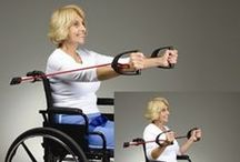 Exercising With a Disability / This Board shares ideas and ways to exercise with a disability.