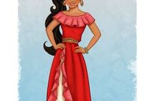 Kids: Elena of Avalor / This board is all about Elena of Avalor, Disney's first Latina princess, and my daughter's favorite.