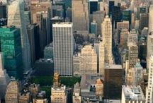 Travel: New York City / I love living in NYC. Here are some great pins about The Big Apple.