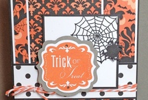 Halloween Craft Ideas / DIY Halloween cards, scrapbook layouts and craft items with a spooky, scary theme. For more, go to www.fancymelissa.com / by fancyMelissa Scrapbooks